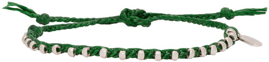 Paul Smith Accessories Green Friendship Bracelet