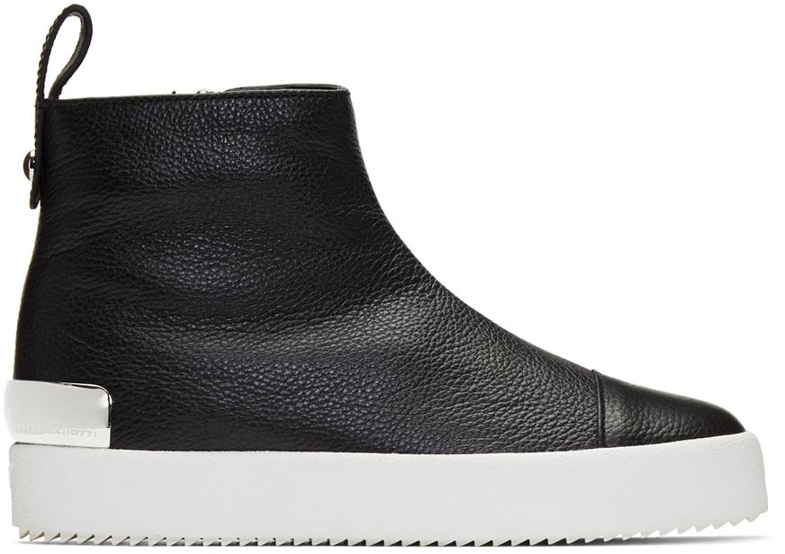 Giuseppe Zanotti Sneakers Black Arena High-Top Sneakers