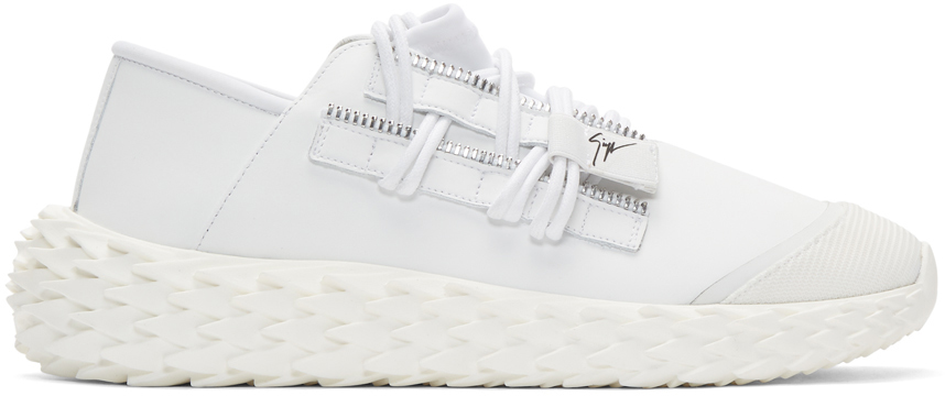 Giuseppe Zanotti Sneakers White Ulan Urchin Sneakers
