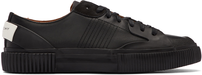 Givenchy Sneakers Black Basse Tennis Light Sneakers