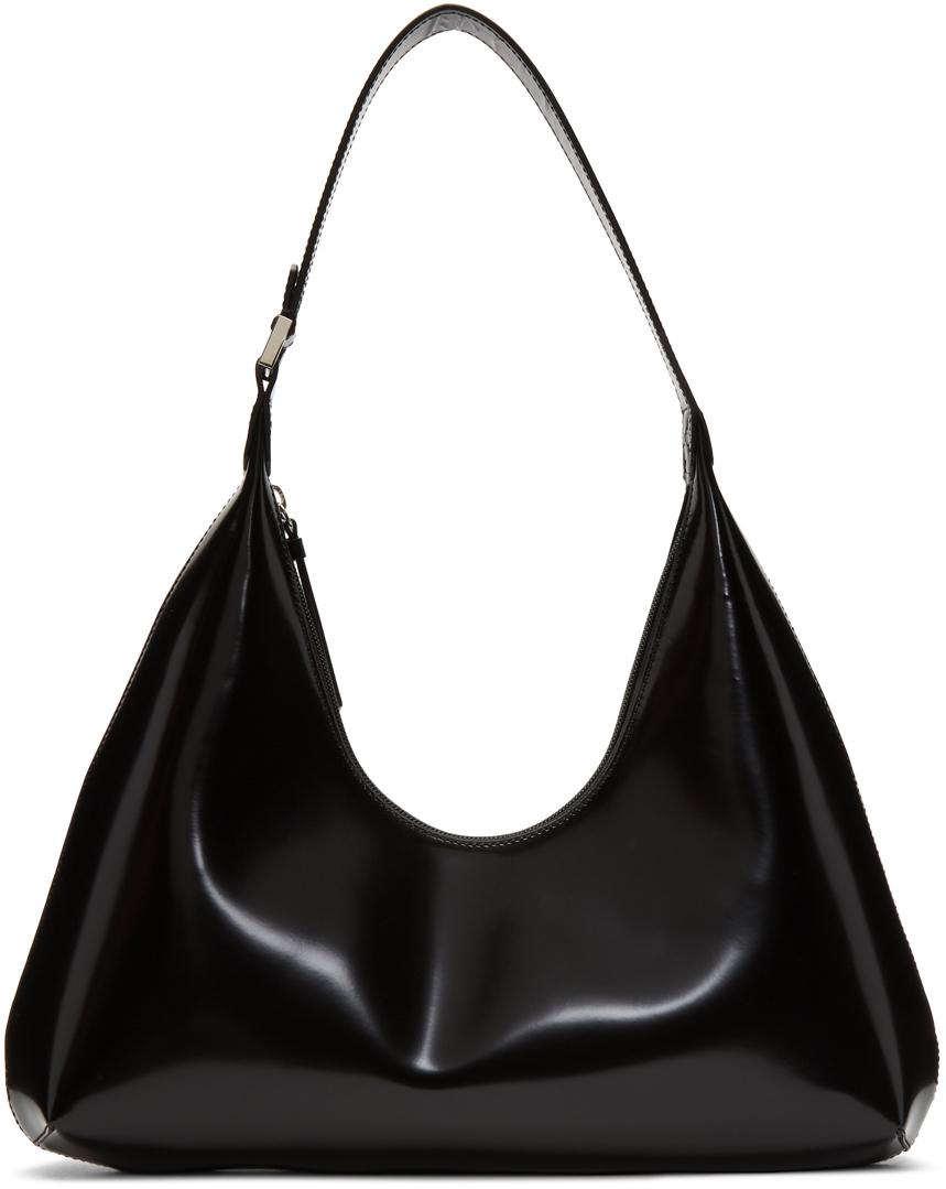 By Far Shoulder Black Amber Bag