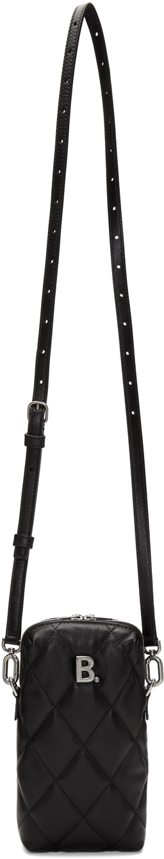 Balenciaga Shoulder Black B. Touch Rectangle Bag