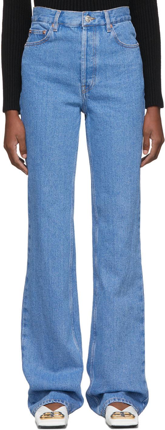 Balenciaga Jeans Blue Straight Jeans