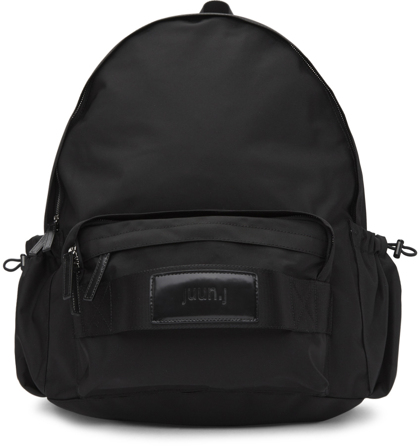 Juun.j Backpacks Black Plain Backpack