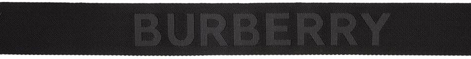 Burberry Belt Black Double D Ring Belt