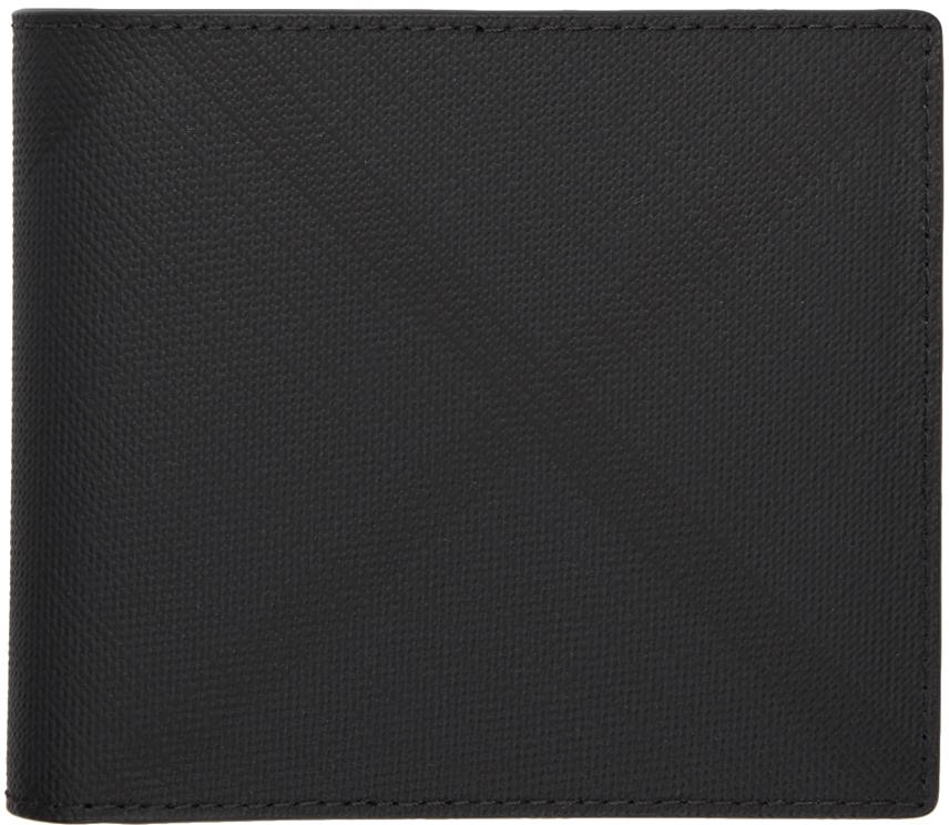 Burberry Wallets Grey London Check International Bifold Wallet