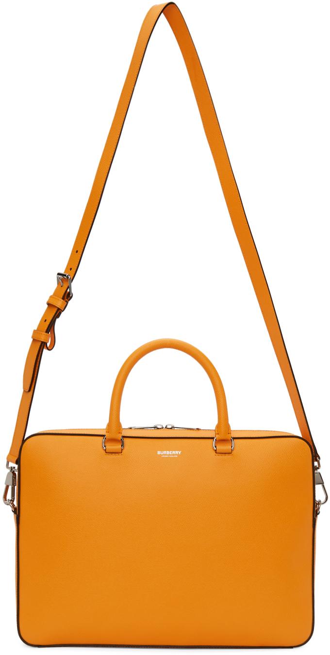 Burberry Pants Orange Ainsworth Briefcase