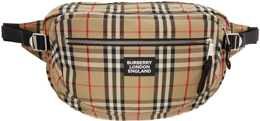 Burberry Belt bags Beige Vintage Check Belt Bag