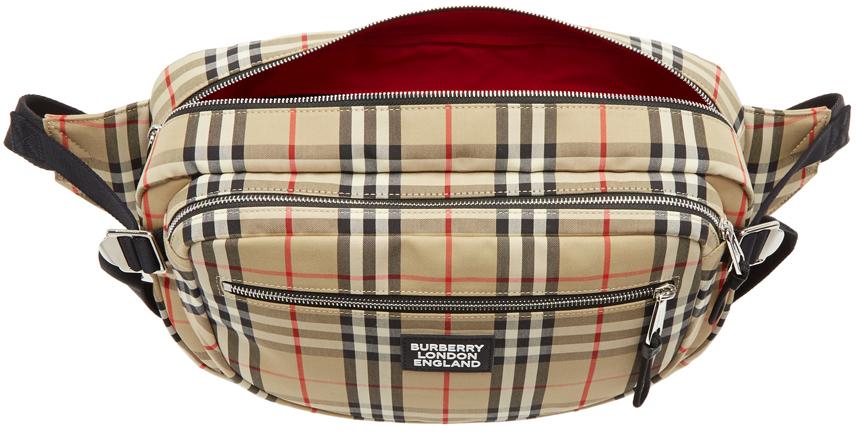 Burberry Belt Beige Vintage Check Belt Bag