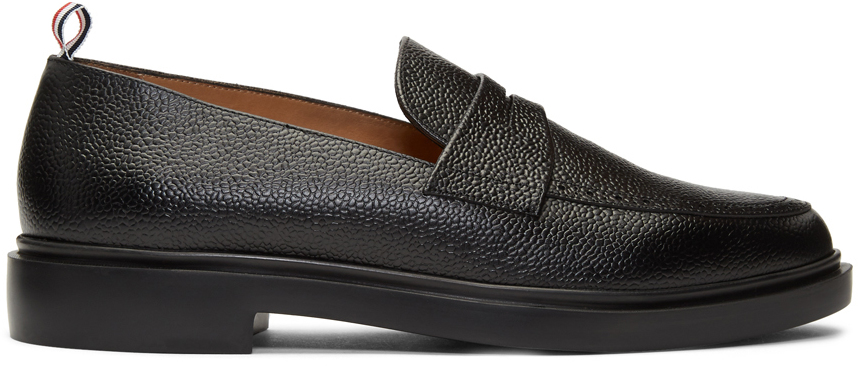 Thom Browne Loafers Black Lightweight Sole Penny Loafers