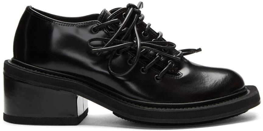 Simone Rocha Shoes Black Leather Brogues