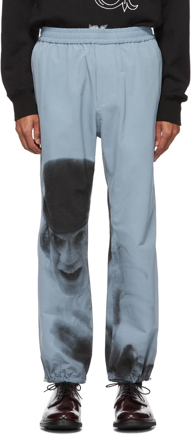 Undercover Pants Blue A Clockwork Orange Alex Print Lounge Pants