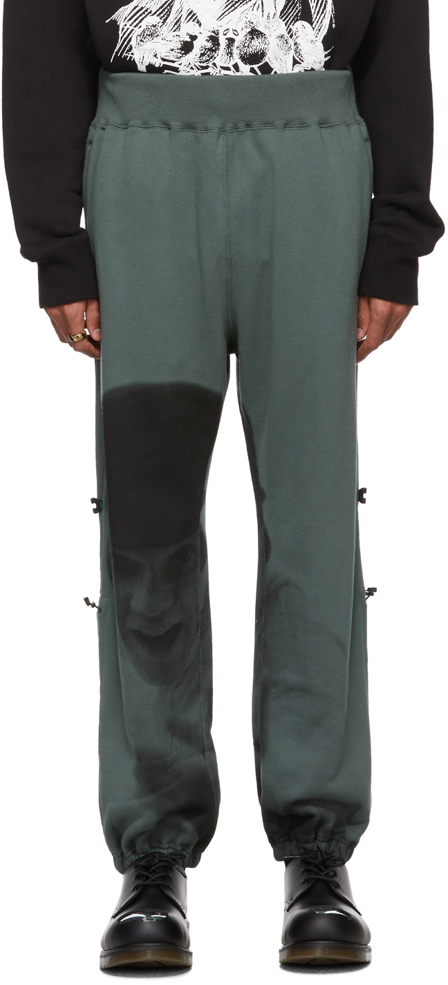 Undercover Pants Green A Clockwork Orange Alex Image Lounge Pants