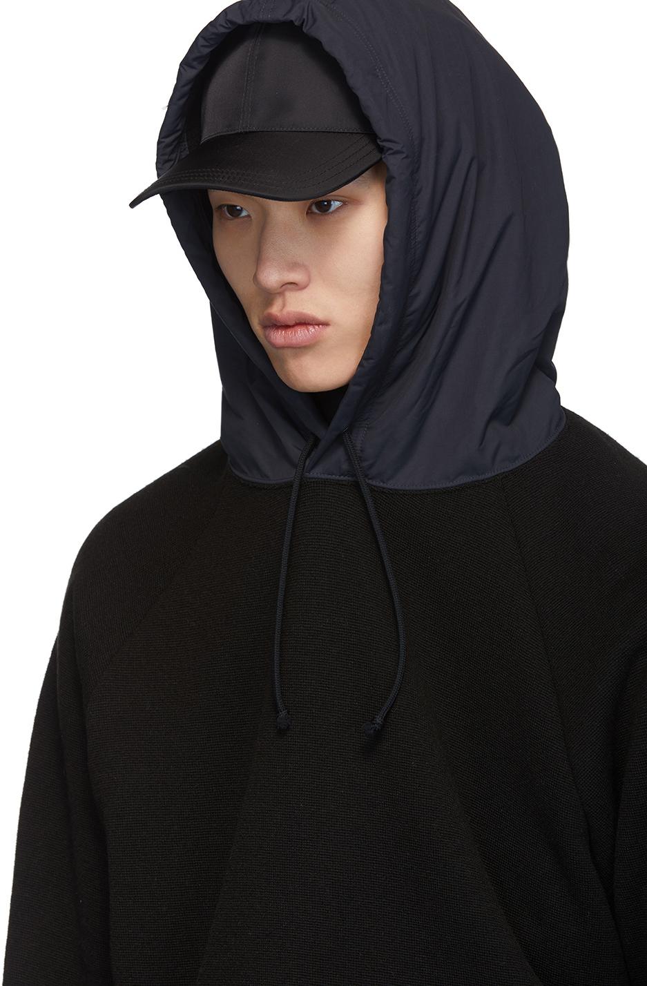 Undercover Accessories Black Rose Hoodie