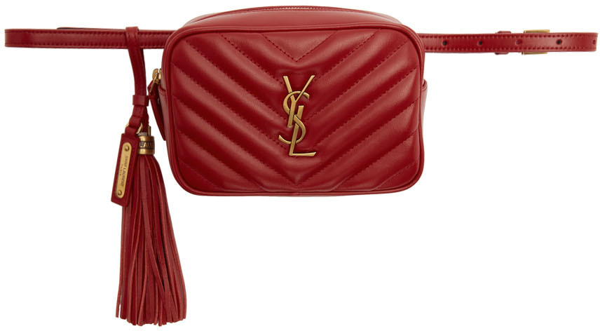 Saint Laurent Belt bags Red Lou Belt Bag