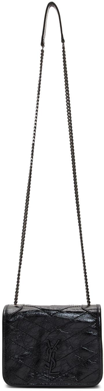 Saint Laurent Shoulder Black Baby Niki Chain Wallet Bag