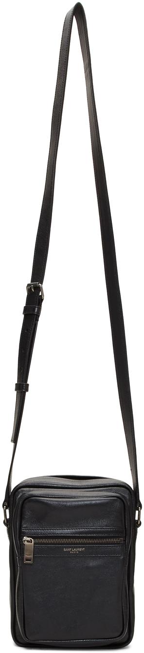 Saint Laurent Accessories Black Brad Pouch
