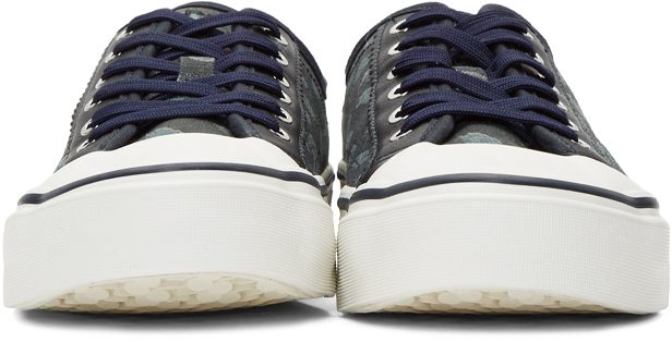 Ps By Paul Smith Sneakers Navy Cheetah Fennec Sneakers