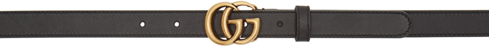 Gucci Belt Black GG Belt