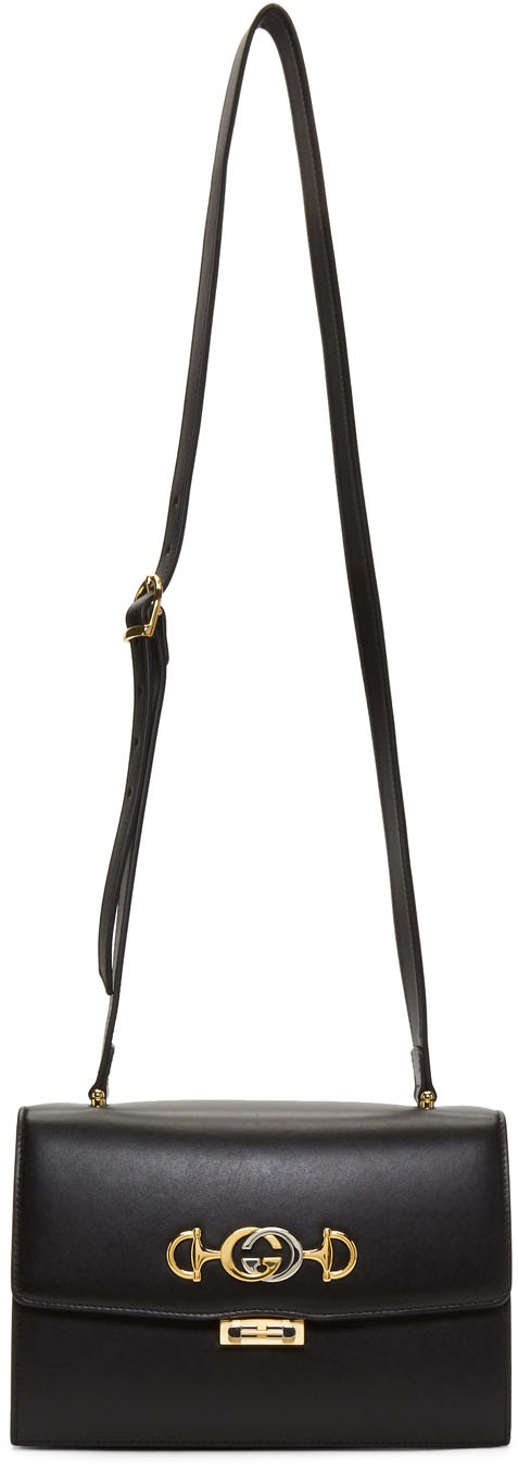 Gucci Shoulder Black Zumi Shoulder Bag