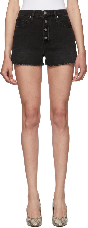Frame Shorts Black 'Le Vintage' Shorts
