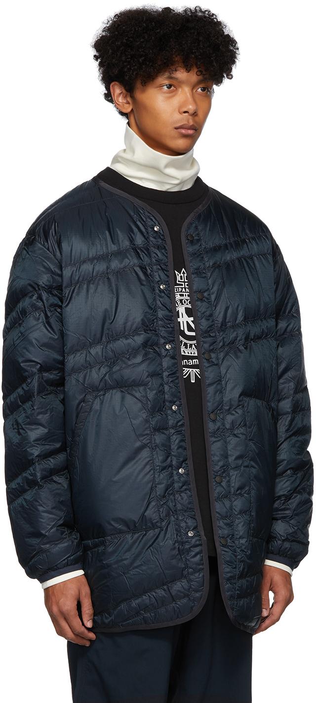 Nanamica Coats Navy Down Coat