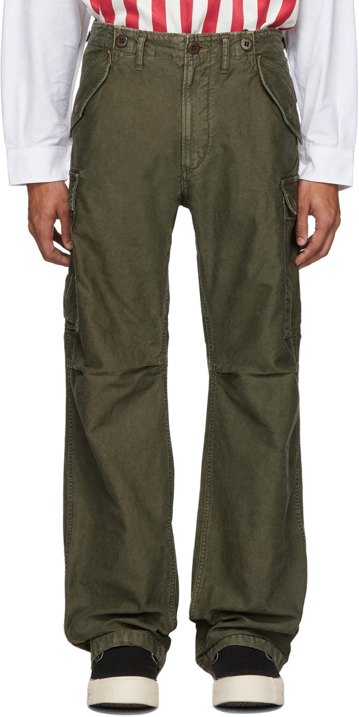 Visvim Pants Green Eiger Sanction Cargo Pants