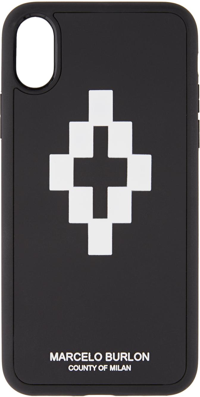 Marcelo Burlon County Of Milan Cases Black & White 3D iPhone X Case