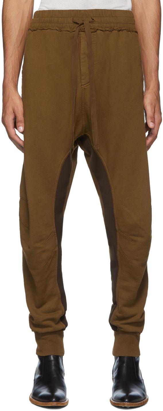 Haider Ackermann Pants Brown Perth Moonshape Lounge Pants
