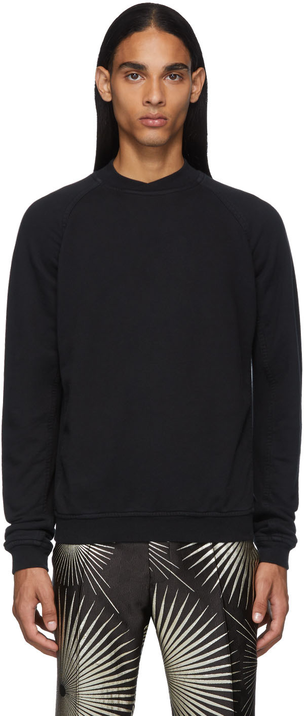 Haider Ackermann T-shirts Black Perth Sweatshirt