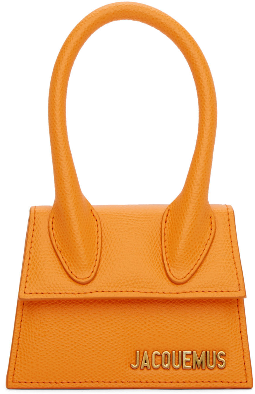 Jacquemus Clutch Orange 'Le Chiquito' Bag