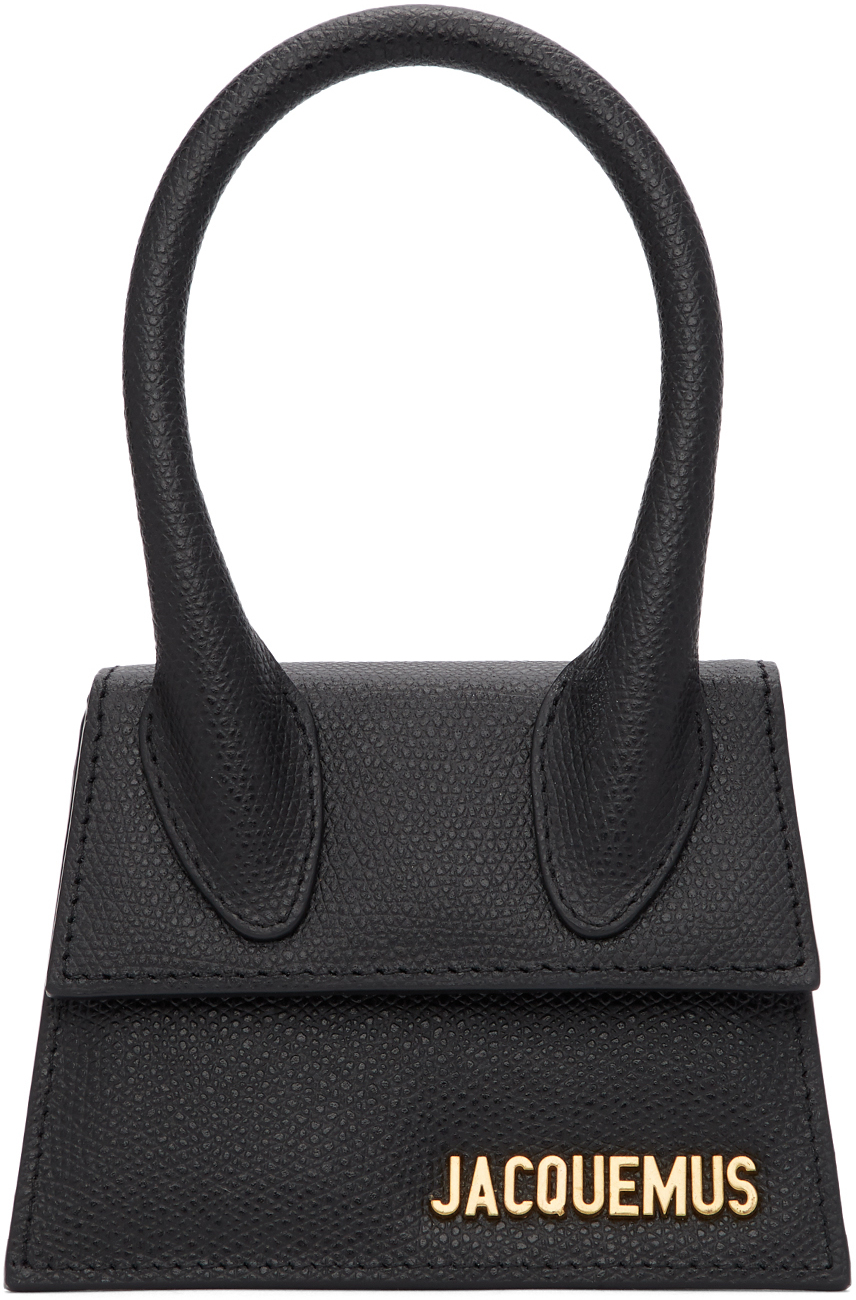 Jacquemus Clutch Black 'Le Chiquito' Bag