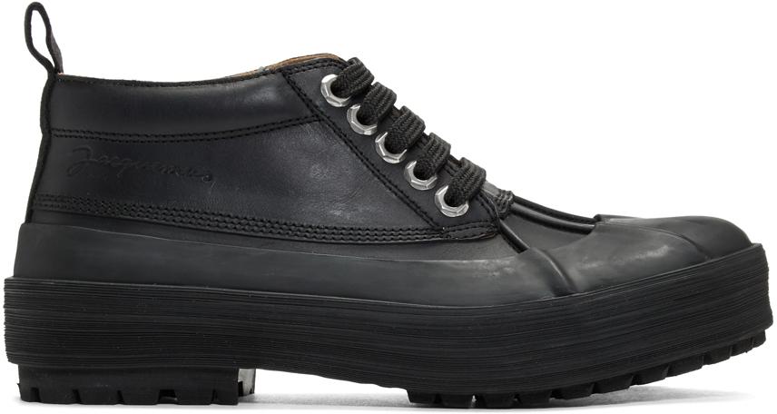 Jacquemus Boots Black 'Les Meuniers' Boots