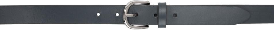 Isabel Marant Belt Grey Leather Zap Belt