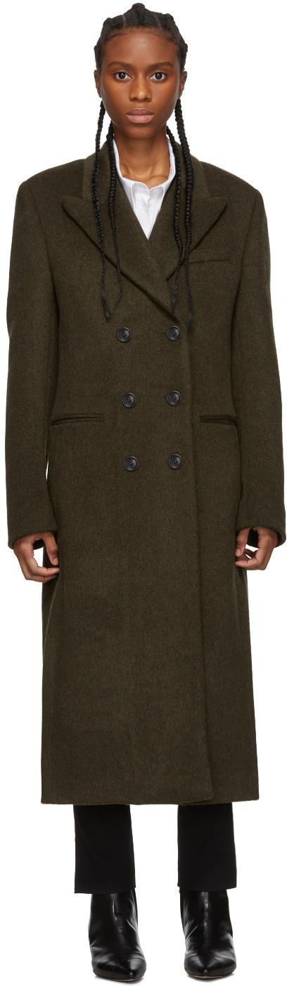 Isabel Marant Coats Khaki Roleen Coat