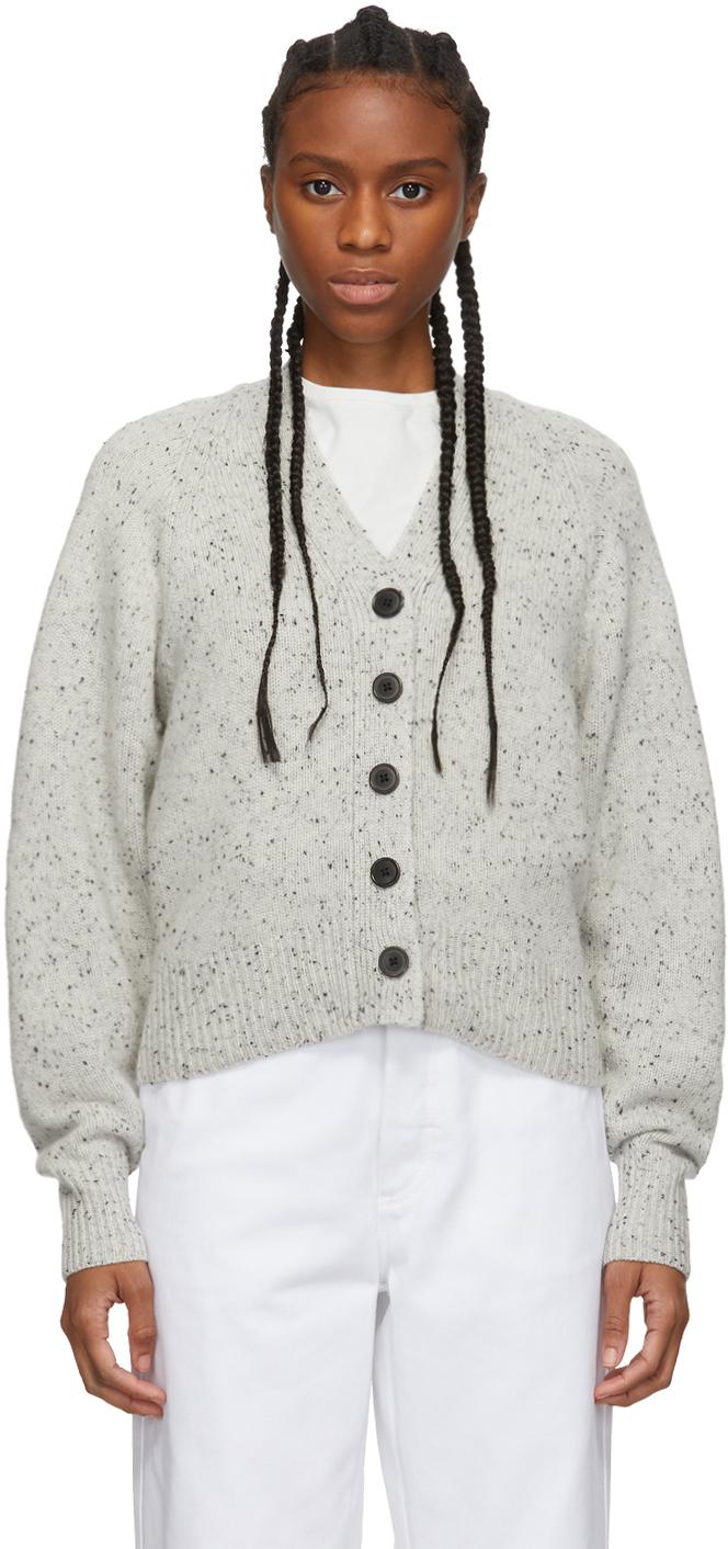 Isabel Marant Accessories Grey Cashmere Caliba Cardigan
