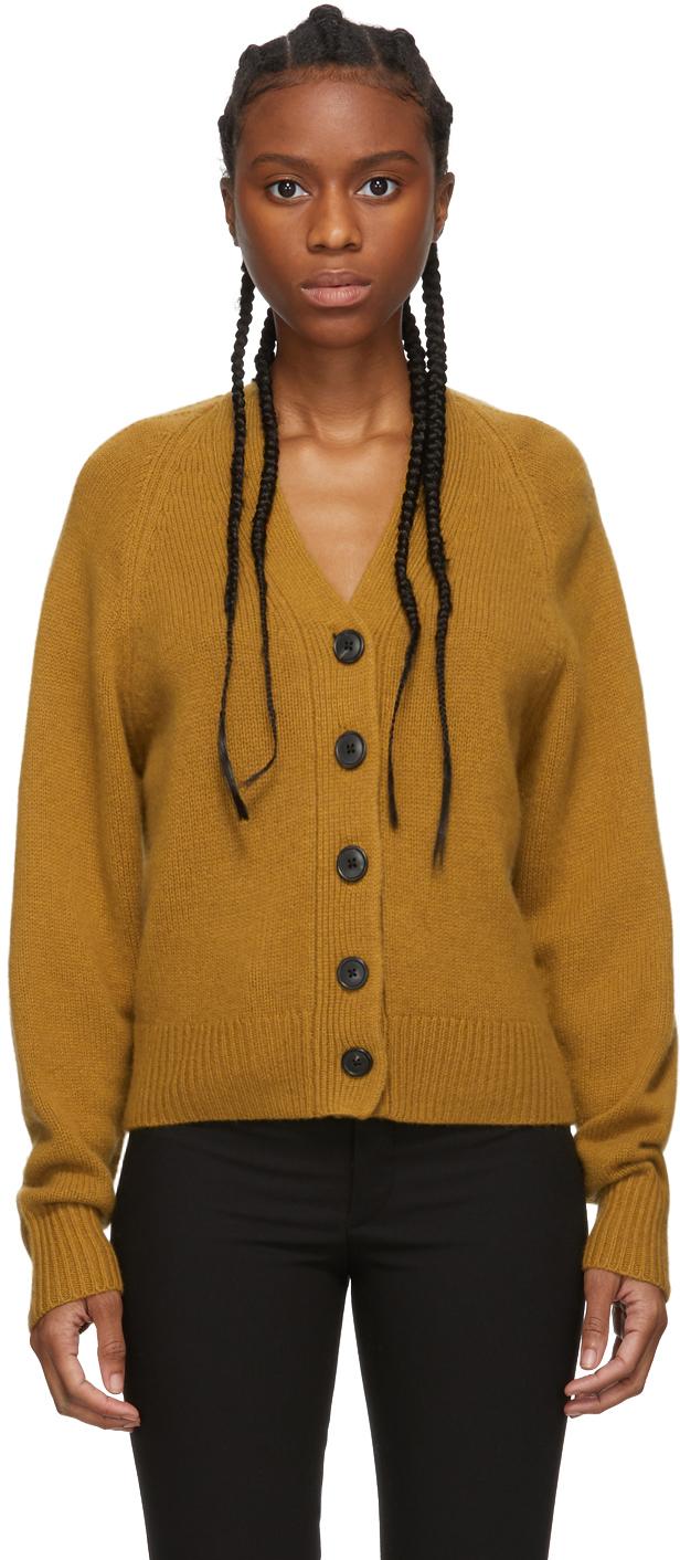 Isabel Marant Accessories Tan Cashmere Caliba Cardigan