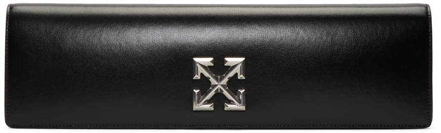 Off-White Clutch Black Jitney 2.2 Clutch