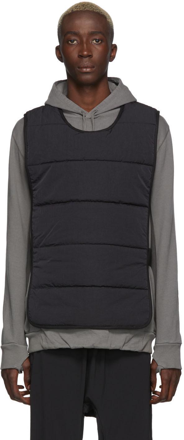11 By Boris Bidjan Saberi Accessories Black Nylon Vest