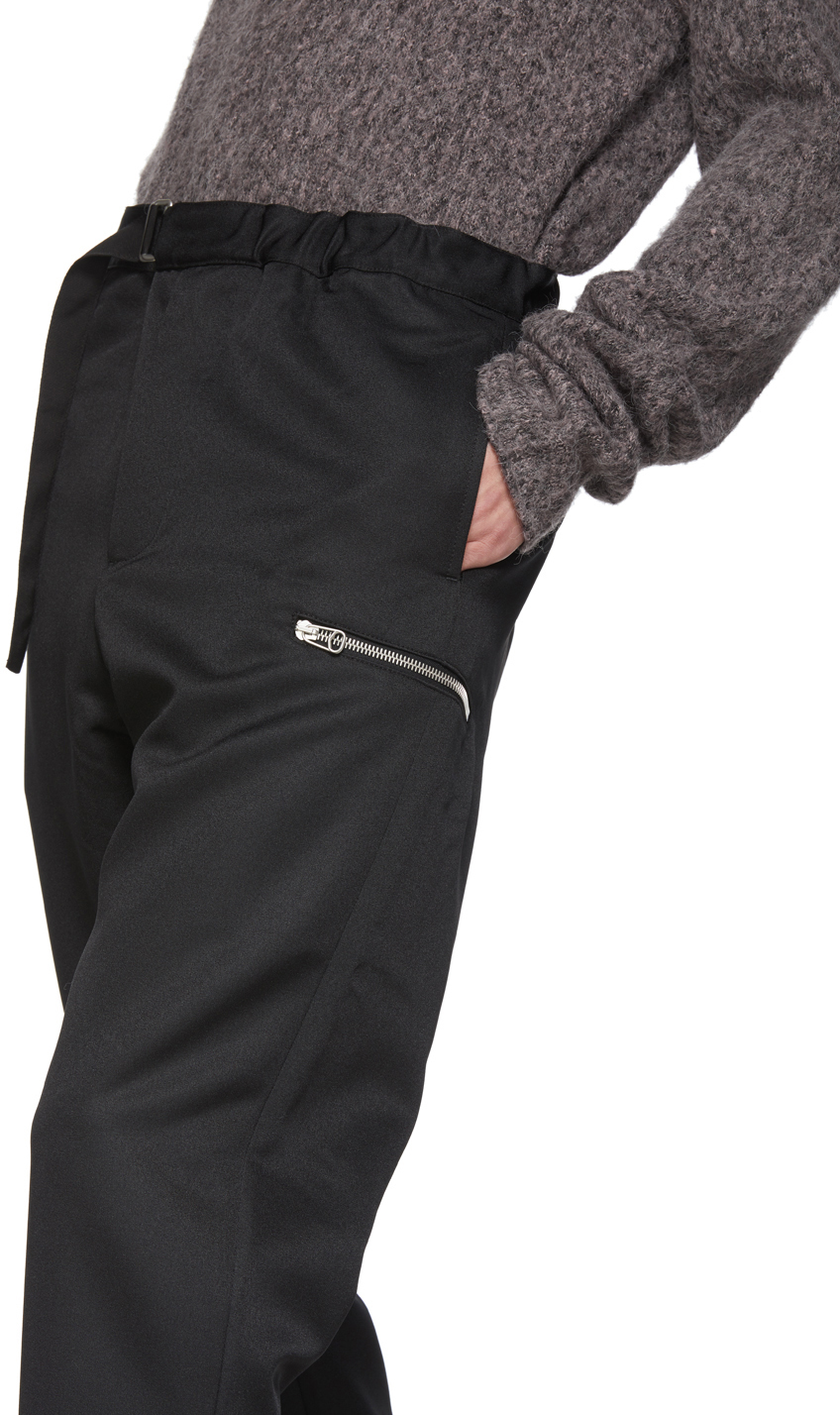 Oamc Pants Black Regs Trousers