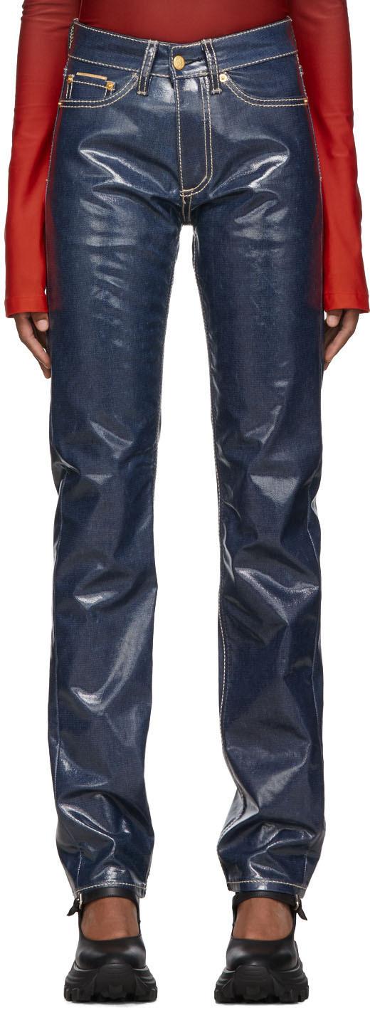 Eytys Jeans Indigo Cypress Wet Jeans