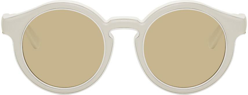 Loewe Sunglasses White Padded Sunglasses