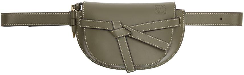 Loewe Accessories Green Mini Gate Bum Bag