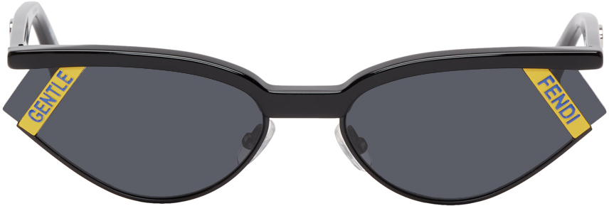 Fendi Sunglasses Black Gentle Monster Edition Cat-Eye Sunglasses