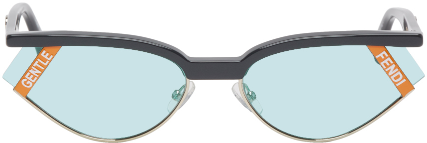 Fendi Sunglasses Grey Gentle Monster Edition Cat-Eye Sunglasses