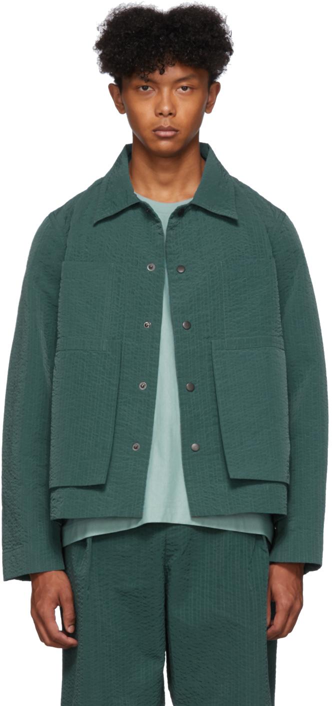 Craig Green Jackets Green Line Stitch Worker Jacket