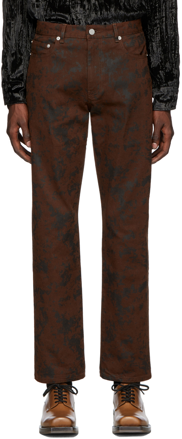 Cmmn Swdn Jeans Brown Connor 5-Pocket Jeans