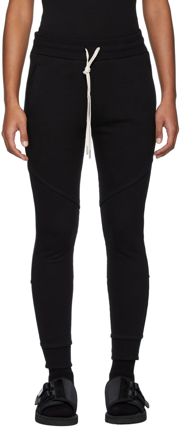 John Elliott Pants Black Escobar Lounge Pants