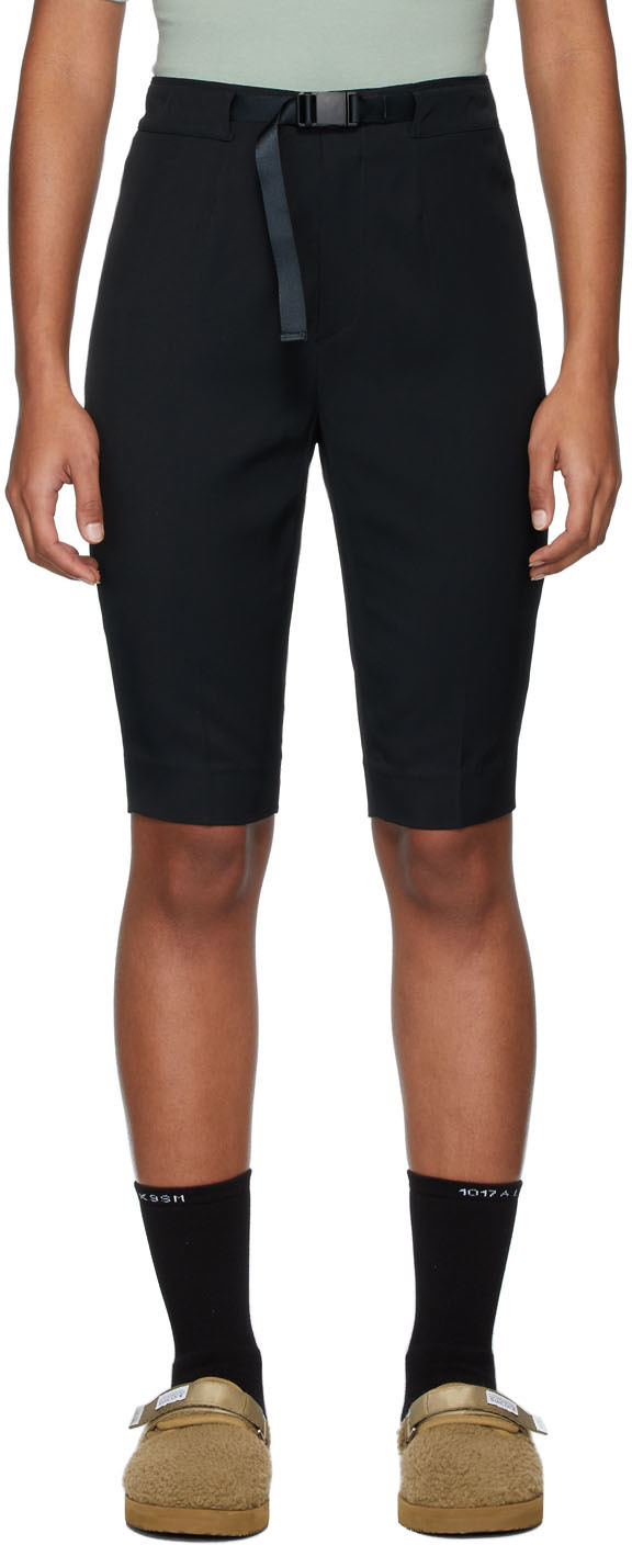 John Elliott Pants Black Bermuda Shorts