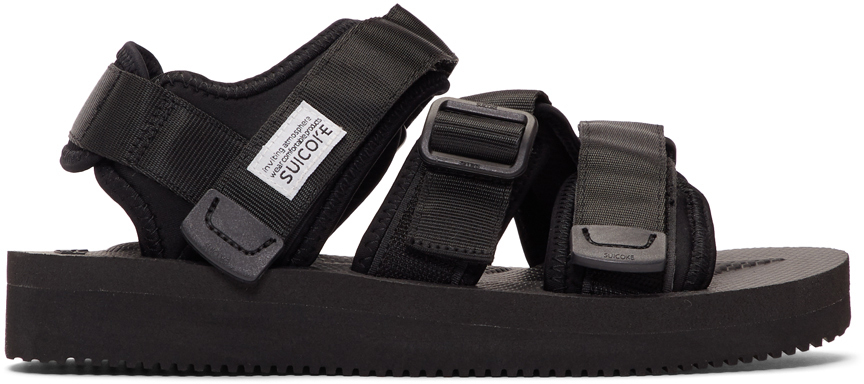 Suicoke Sandals Black KISEE-V Sandals